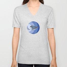 Oh Whale Unisex V-Neck