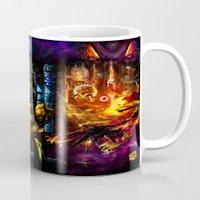 metroid Mugs featuring Metroid: 25 Years by LightningArts