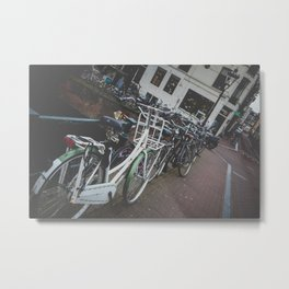 Easy going Amsterdam Metal Print