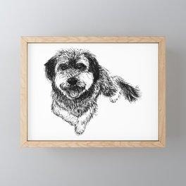 Adorable Doggo Framed Mini Art Print