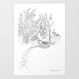 beegarden.works 001 Art Print