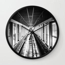 Seoul Subway Tunnel Wall Clock