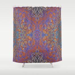 Mehndi Ethnic Style G350 Shower Curtain