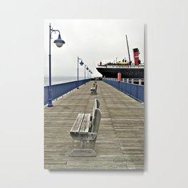 Soo City Dock Metal Print
