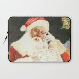 Letter to Santa Claus Laptop Sleeve