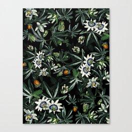 EXOTIC GARDEN - NIGHT XI Canvas Print