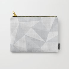 White Deconstruction Carry-All Pouch