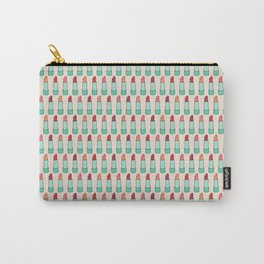 Doodle Lipstick Pattern Carry-All Pouch