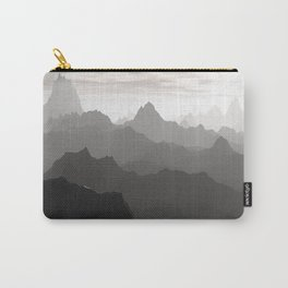 Shades of Gray Carry-All Pouch