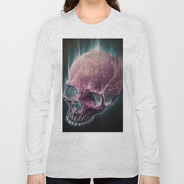 Glow Skull Long Sleeve T-shirt
