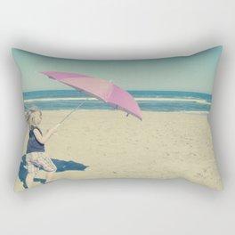 Beach Whirl Rectangular Pillow