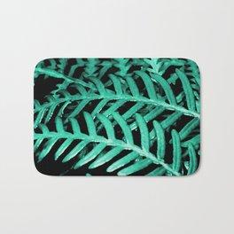 Bracken Fern - Digital Oil Painting Bath Mat