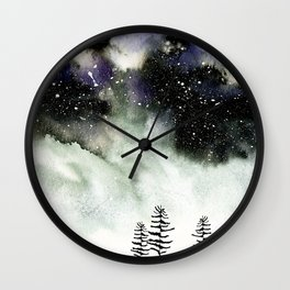 Star Rush Wall Clock