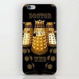 Doctor Who Said Ex iPhone Skin