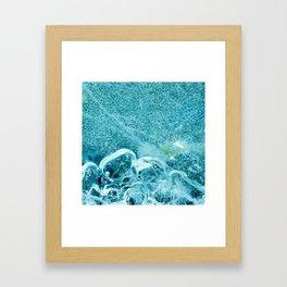 frozen series II Framed Art Print