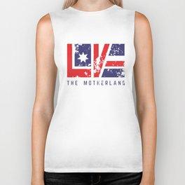 Love The Motherland Biker Tank