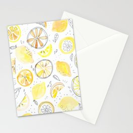Lemon Squeezy | Watercolour and Pen Painting Stationery Cards