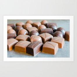 Chocolate 6 Art Print