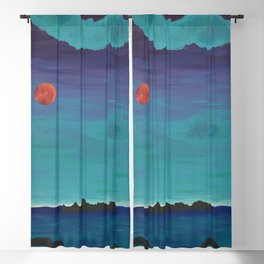 Under a Caribbean Moon Blackout Curtain