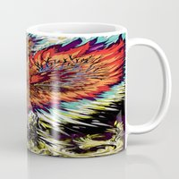 third eye Mugs featuring Third Eye by FractalFox