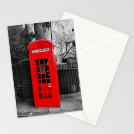 Red Telephone Box Stationery Cards
