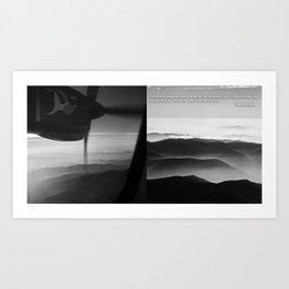 MOUNT EVEREST 002 Art Print