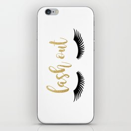 Lash Out iPhone Skin