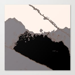Organic No.16 Abstract #muted #society6 #artprints #fineart #decor Canvas Print