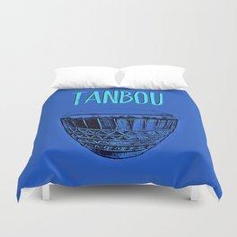 Tanbou(blue) Duvet Cover