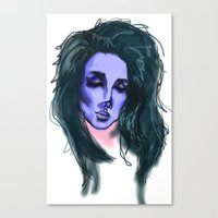 lana Canvas Prints featuring Lana by icanbeme