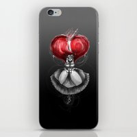 "calendars iPhone & iPod Skins featuring Crimson Lolita by Barbora ""Mad Alice"" Urbankova"