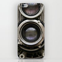 photographer iPhone & iPod Skins featuring photographer by Da Axw