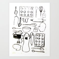 Pantry Art Print