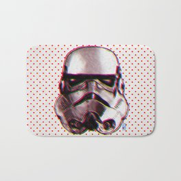 CMYK Stormtrooper by Javi Codina Bath Mat
