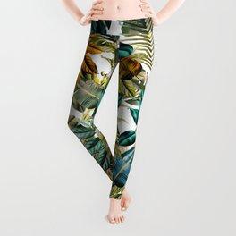 Tropical Garden IV Leggings