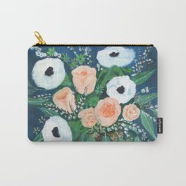 blush and white bouquet Carry-All Pouch