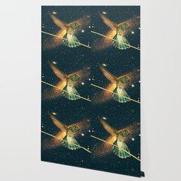 """Colibri cosmique"" Wallpaper"