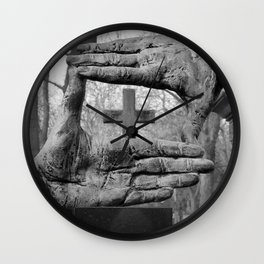 About us Wall Clock