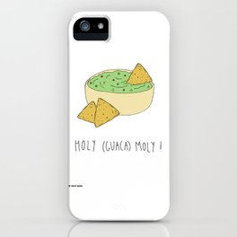Holy (Guaca)moly! iPhone Case