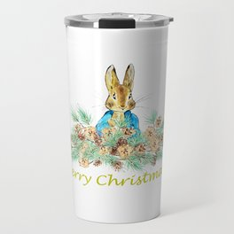Peter Rabbit Christmas Travel Mug