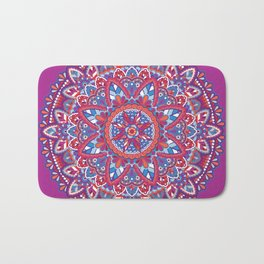 Sunset Mandala Bath Mat