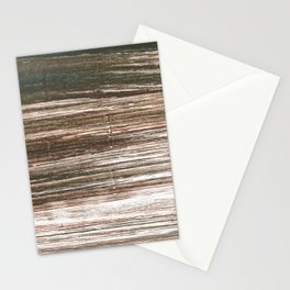 Dark lava abstract watercolor Stationery Cards