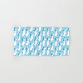 kaikoura whales Hand & Bath Towel
