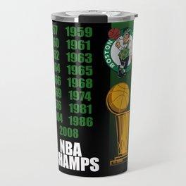 Boston NBA Champs Travel Mug