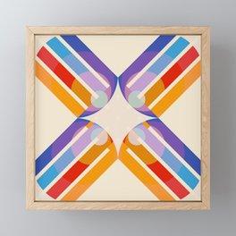 Rudianus - Colorful Abstract Art Framed Mini Art Print