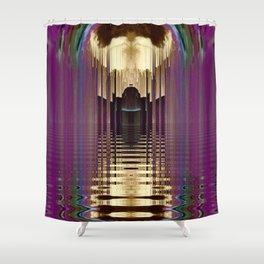 Aura Goddess Shower Curtain