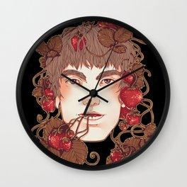 Strawberry Boy Wall Clock