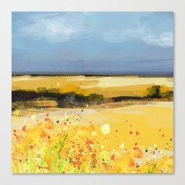 Near the coast Canvas Print