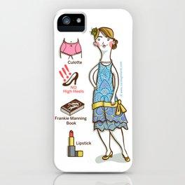SWING SERIES: LINDY HOPPER (female) iPhone Case