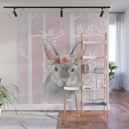 Animals in Forest - The little Bunny Wall Mural